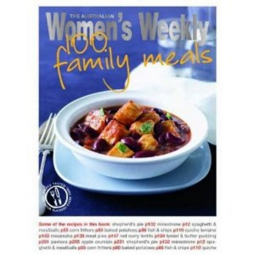 The Australian Women's Weekly 100 Family Meals Cookbook