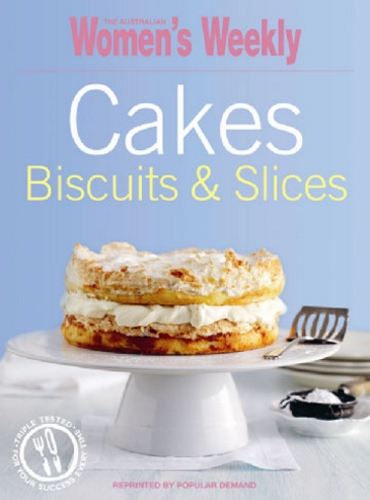 The Australian Women's Weekly Cakes, Biscuits and Slices Cookbooks