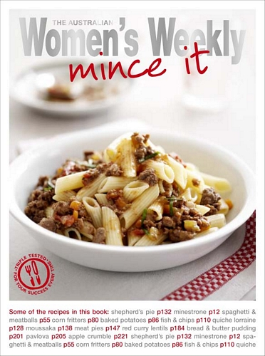 The Australian Women's Weekly Mince It Cookbook